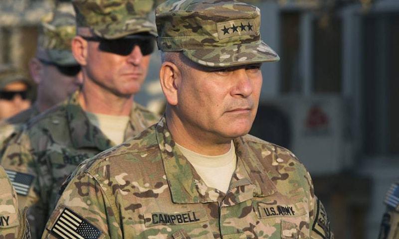 Gen. John Francis Campbell.—Reuters/File