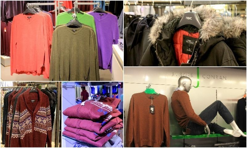 Everything from hoodies to cashmere sweaters is available at the winter  wonderland that is Dolmen Mall