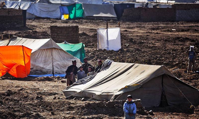 Pakistanis fleeing offensive find new dangers in Afghanistan