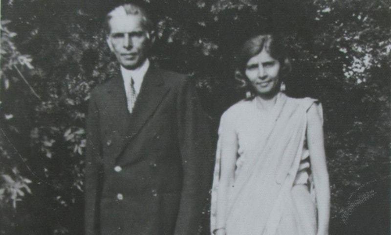 فاطمہ جناح کی قائد اعظم کے ساتھ ایک یادگار تصویر