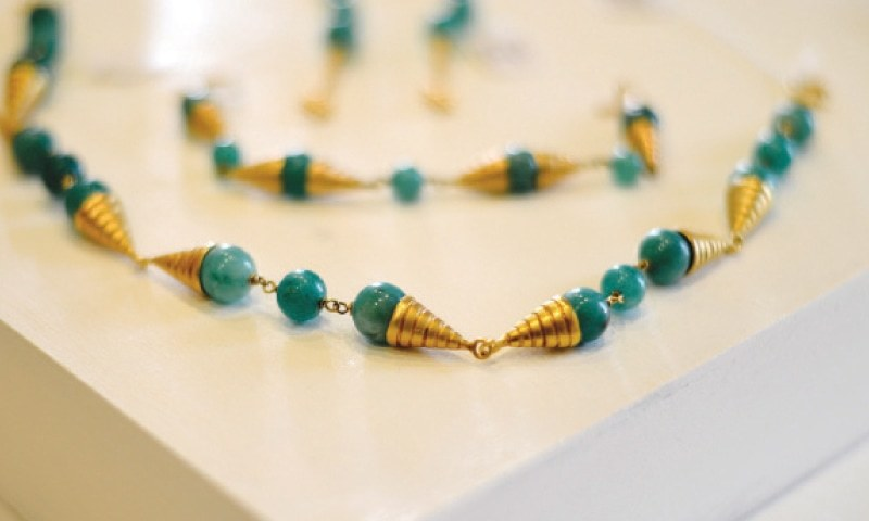 Transcontinental ethnic and chic a jewellery designer