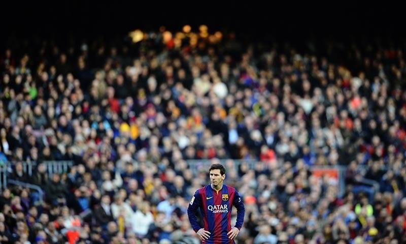 Messi fires Barca; Juve, Lyon held - Newspaper - DAWN.COM