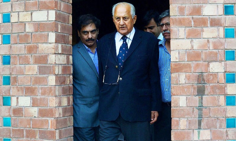 Chairman PCB, Shahryar Khan. —AFP