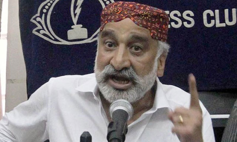 Former Sindh home minister Dr Zulfiqar Mirza. -File Photo
