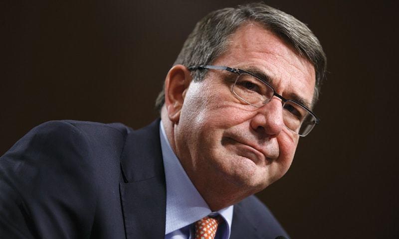US defense secretary Ashton Carter.  — AFP
