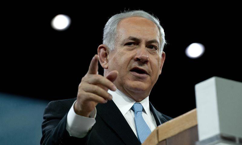اسرائیلی وزیر اعظم بینجمن نیتن یاہو—تصویر اےا یف پی