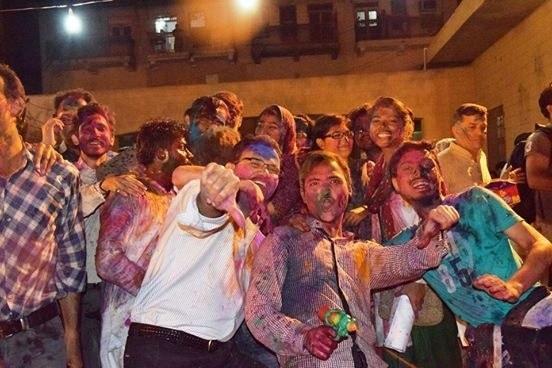 Hindus and Muslims alike enjoy Holi in Karachi ─ Photo credit: Muzammil Afzal