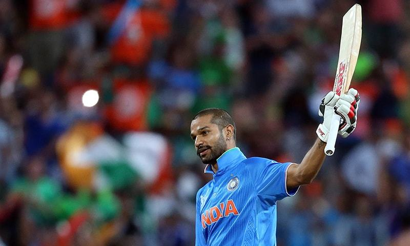 Dhawan blitz gives India fifth consecutive World Cup victory