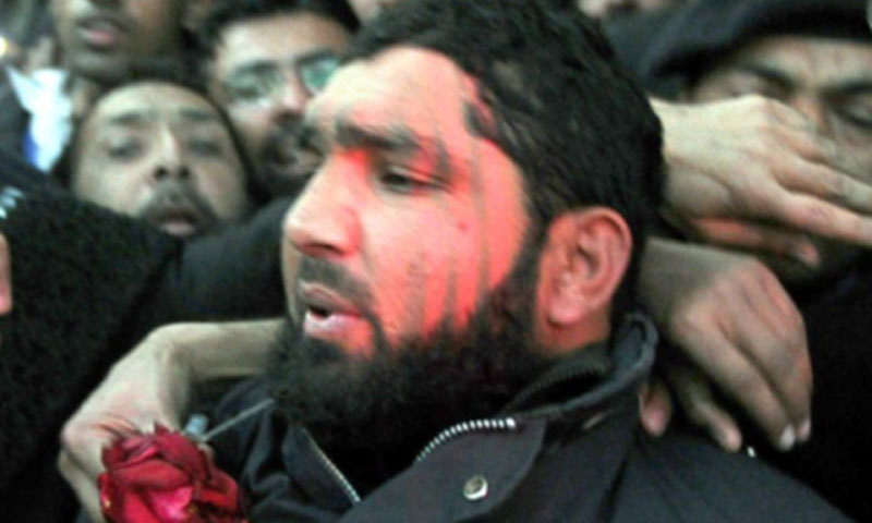 Qadri's killing of then governor of Punjab Salmaan Taseer is the very definition of terrorism.—AFP/File