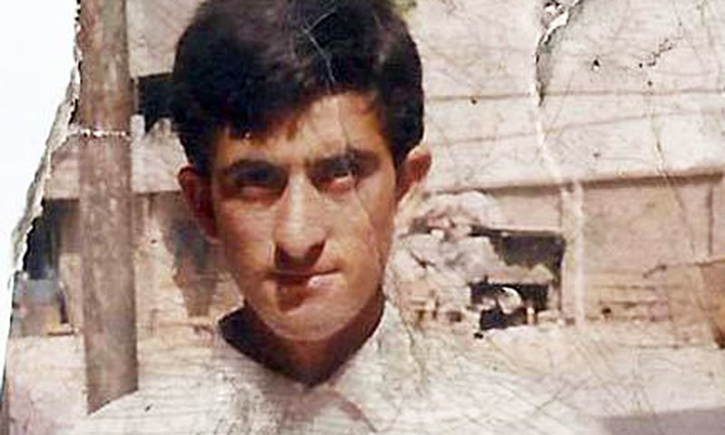 Shafqat Hussain was said to be 14 years old at the time of his conviction. Photo courtesy of the Justice Project Pakistan