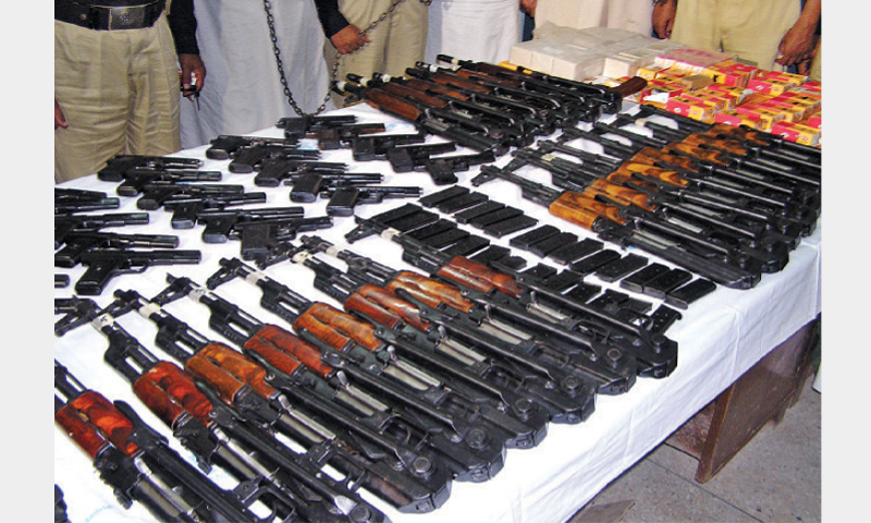Weapons Being Smuggled In Ambulances Rangers Pakistan
