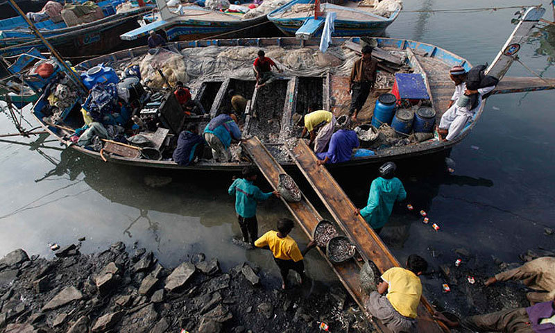 Ibrahim Hyderi fishing harbour. — Photo by Reuters
