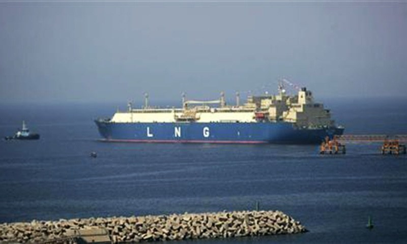 A shipment of 147,000 cubic feet of Liquefied Natural Gas (LNG) from Qatargas reached Karachi today in a Floating Storage Regasification Unit (FSRU) ─ Reuters/File