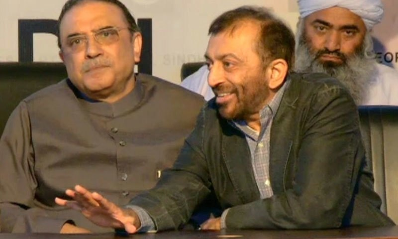 MQM leader Farooq Sattar said that the government is flying solo on the issue. ─ DawnNews screengrab