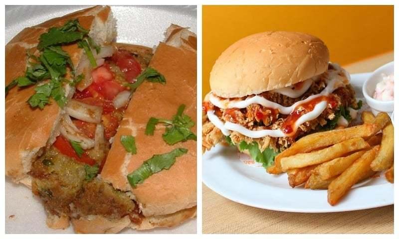 Bun kebab vs burger