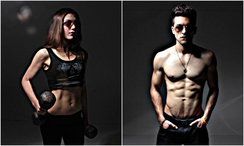 Torsam Tajik and Nusrat Hidayatullah, the brains behind the fitness program.
