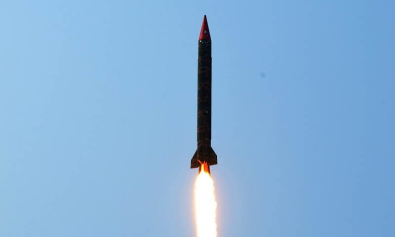 Pakistan successfully test fires nuclear-capable Ghauri ...