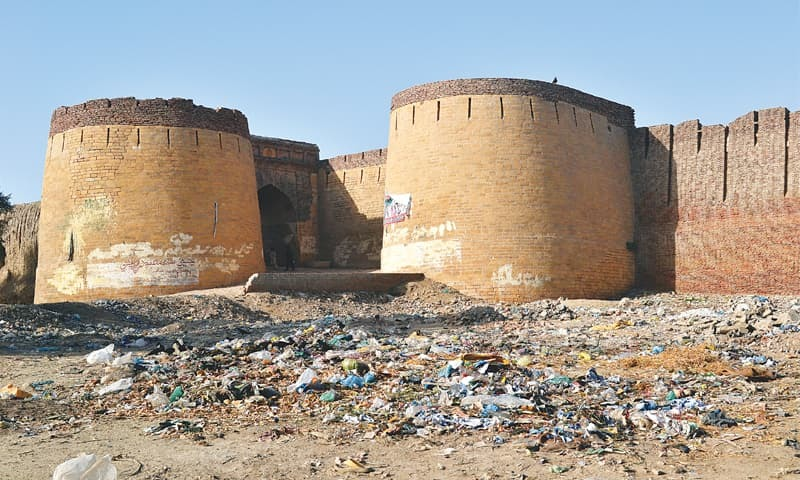 Umerkot Fort in a state of ruin today