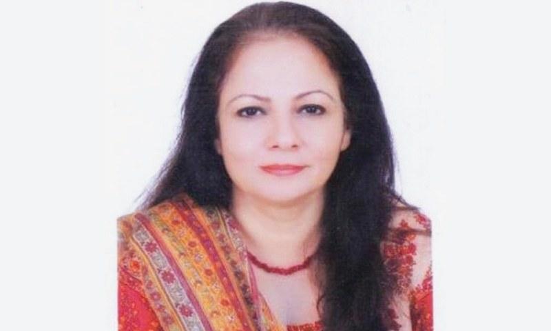 DR Ayesha Ghaus-Pasha
