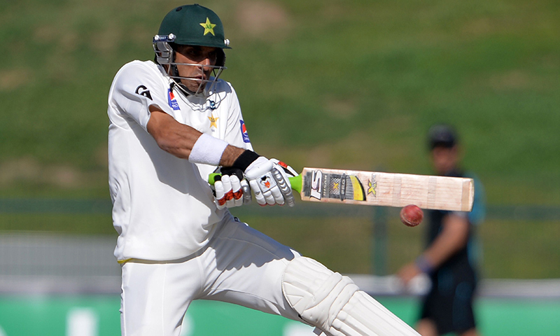 "Former Test cricketer and chief selector Salahuddin Ahmed Sallu said, ""Both Misbah and Younis bring a wealth of experience with them, and with Azhar Ali and Asad to back them in the middle order, I am confident that Pakistan can post a total in excess of 400 in their turn.""— AFP/file"