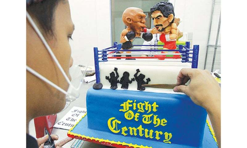 Mayweather Pacquiao To Fight For Boxing Future Newspaper Dawn