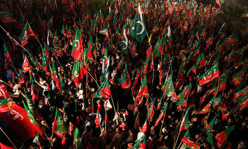 """PTI may not be able to draw as much political advantage from decision on NA-125 now as it could have during dharna."" —Reuters"