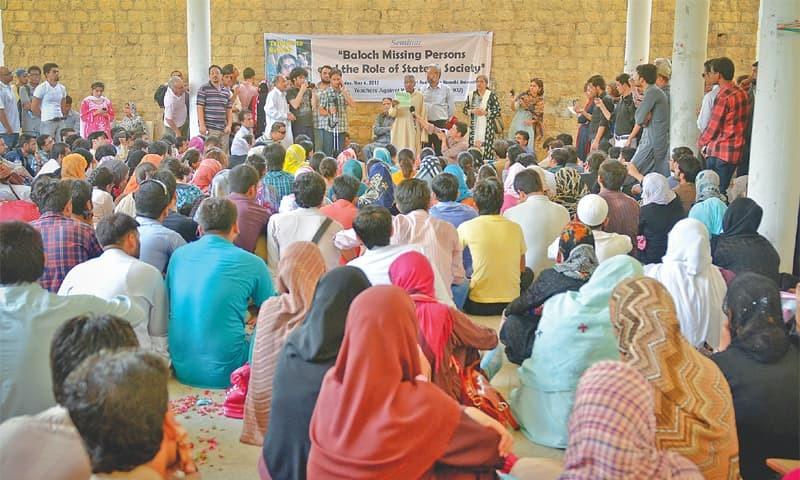 seminar on balochistan missing persons held at ku despite curbs and