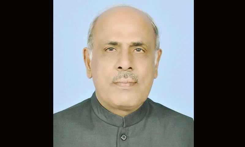 Rajwana, who hails from Multan, had been serving as a senator on a PML-N ticket.  —Photo Courtesy: Facebook
