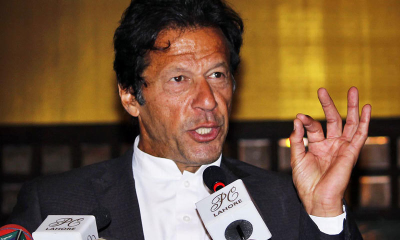Imran Khan is still surrounded by intrigue.—Online/ File