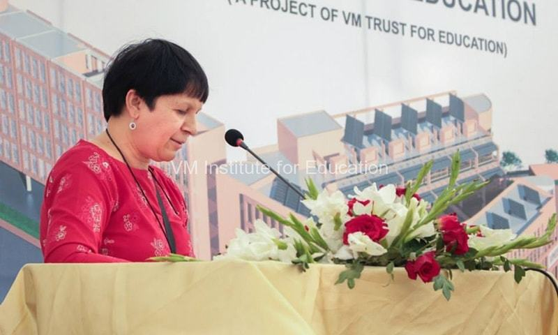 Dr Bernadette L. Dean — Courtesy:vmie.org.pk
