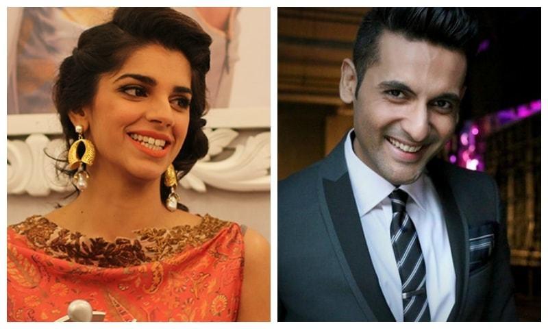 Sanam Saeed and Mohib Mirza will  star in Bachaana — Sanam's photo by Yumna Rafi/Mohib's photo courtesy style.pk