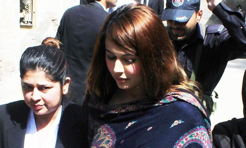 An FBR team, headed by Director General Haroon M.K. Tareen has been investigating Ayyan's tax record and her source of income.  — Online/file