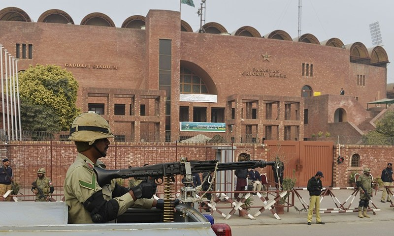 Officials monitoring these affairs say they have never seen such arrangements of tight security ever being made by the CDGL, police, Pakistan Cricket Board and other departments concerned. — AFP/file
