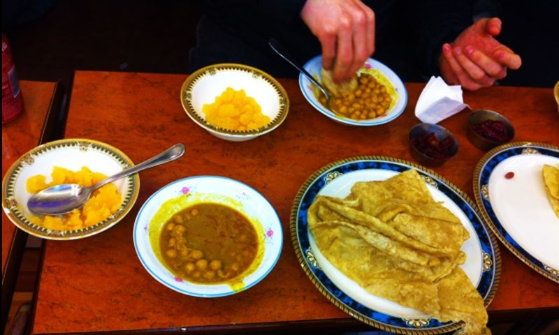 Halwa Puri from Capri Restaurant— Courtesy photo