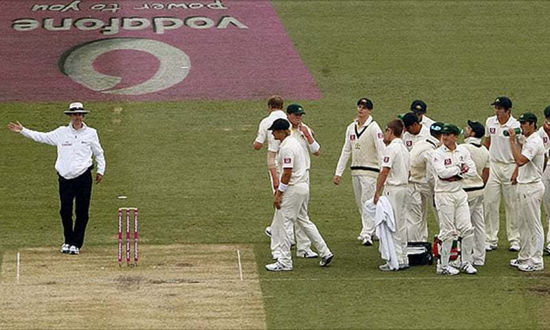 In this photo, umpire Billy Bowden signals a no ball. — Reuters/File