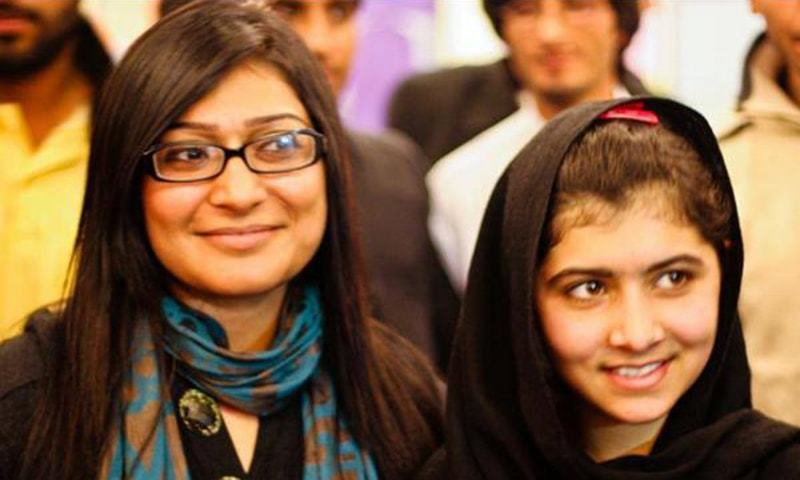 Malala Yousafzai also attended some of Dad's workshops prior to being shot by the Taliban in 2012. - Photo courtesy Twitter