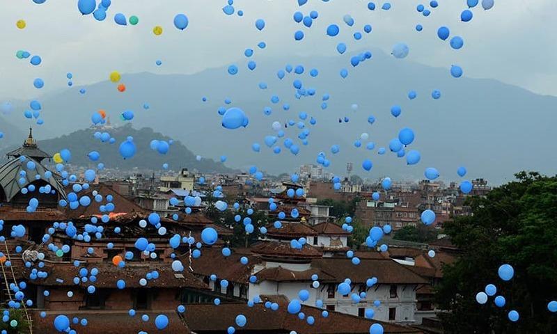 نیپال زلزلہ : اپنوں کی یاد کا انوکھا انداز