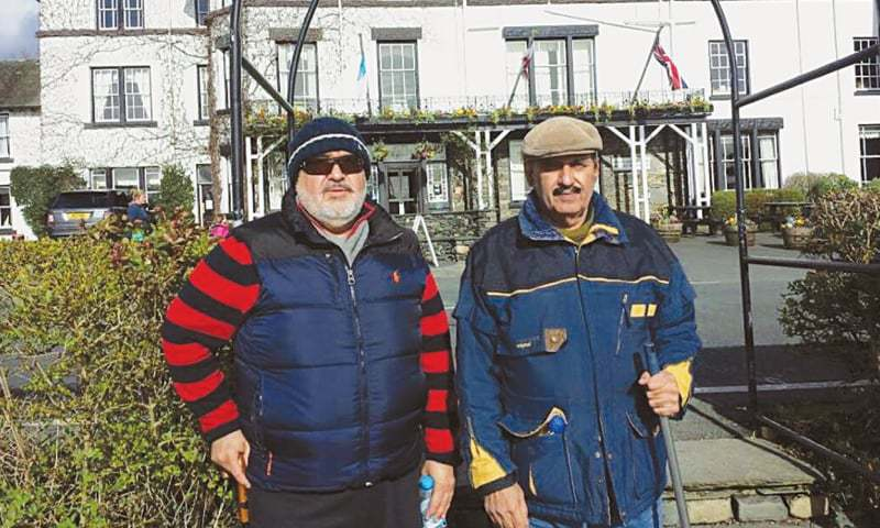 KHAN of Kalat Mir Suleman Dawood Jan & Prince Mohyuddin Baloch