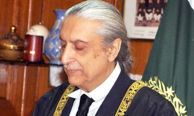 Justice Jawwad S. Khawaja also expressed his displeasure over the allocation of Rs160 million for the National Counter Terrorism Authority Pakistan (Nacta). —Courtesy: Supreme Court of Pakistan
