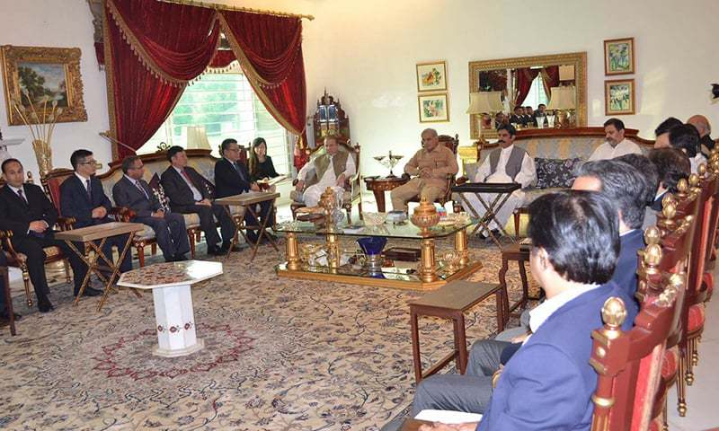 Prime Minister Nawaz Sharif has directed concerned authorities to complete Quaid-i-Azam Solar Power Park (QASP) by April 2016. —Photo courtesy: Prime Minister House