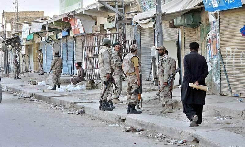 آپریشن میں تین دہشت گرد ہلاک ہوئے ۔۔۔ فائل فوٹو: اے پی پی