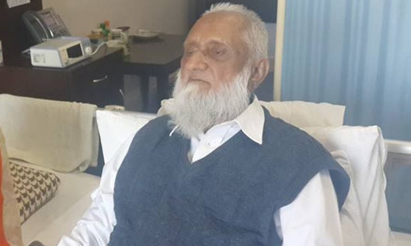 Sardar Abdul Qayyum had been suffering from several diseases for last few years.—Courtesy: Facebook page
