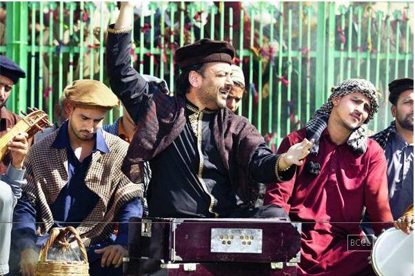 Adnan Sami in 'Bhar Do Jholi Meri'  — Photograph courtesy Times of India