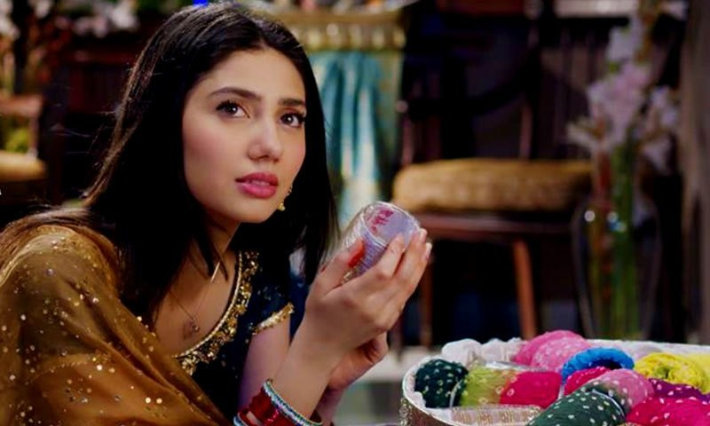 Mahira Khan as Saba in 'Bin Roye'.