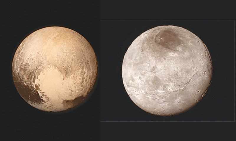Charon Moon: 'Blowing My Mind': Peaks On Pluto, Canyons On Charon