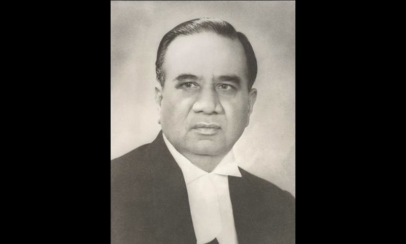 Huseyn Shaheed Suhrawardy — A photograph from his biography that Begum Ikramullah penned many years after his death.