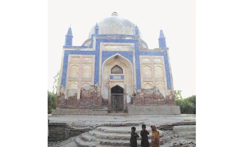 The Shah Baharo tomb.—Saeed Memon