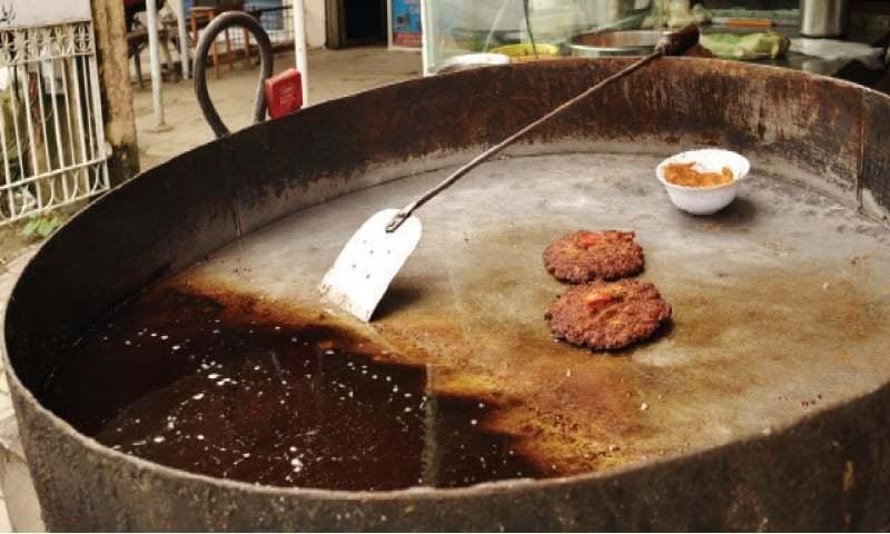 Freshly prepared kebabs ready to be savoured.
