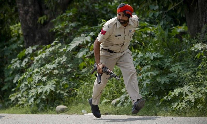 ہندوستانی پنجاب میں حملہ