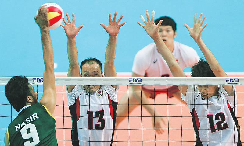 Pakistan's volleyball squad off to Iran - Newspaper - DAWN.COM